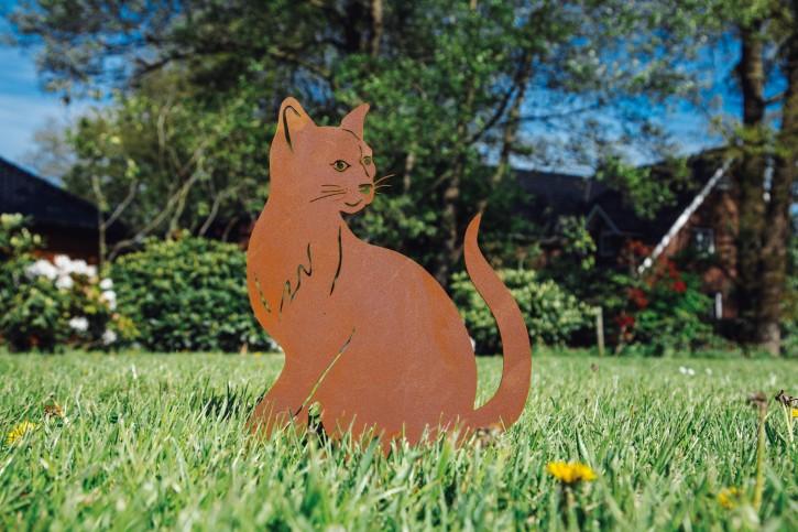"Katze ""Minka"" - Rostig"