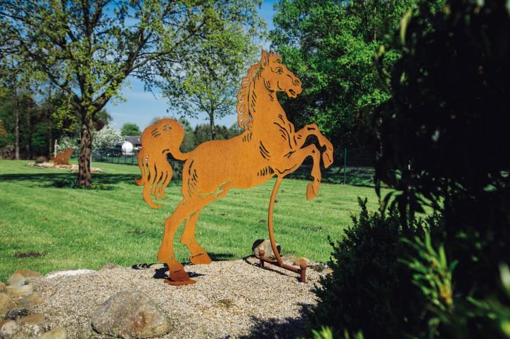 """Pferd """"Aaron"""" groß - Rostig"""