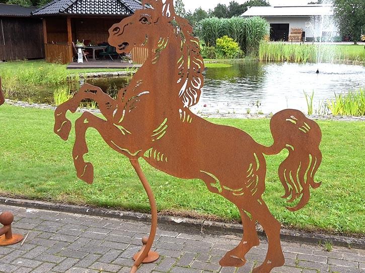 """Pferd """"Aaron"""" klein - Rostig"""